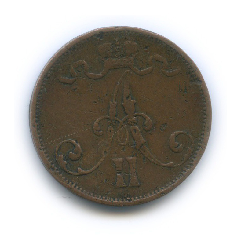 5 пенни 1875 года (Российская Империя)