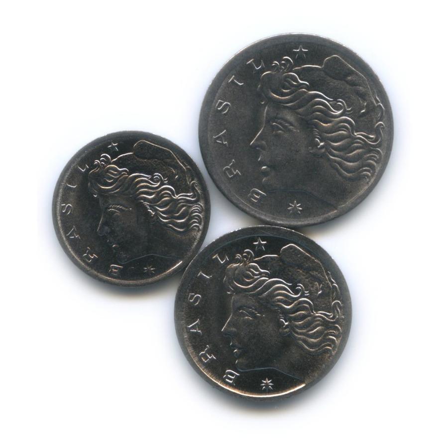 Набор монет - ФАО (Продовольственная программа) 1975 года (Бразилия)