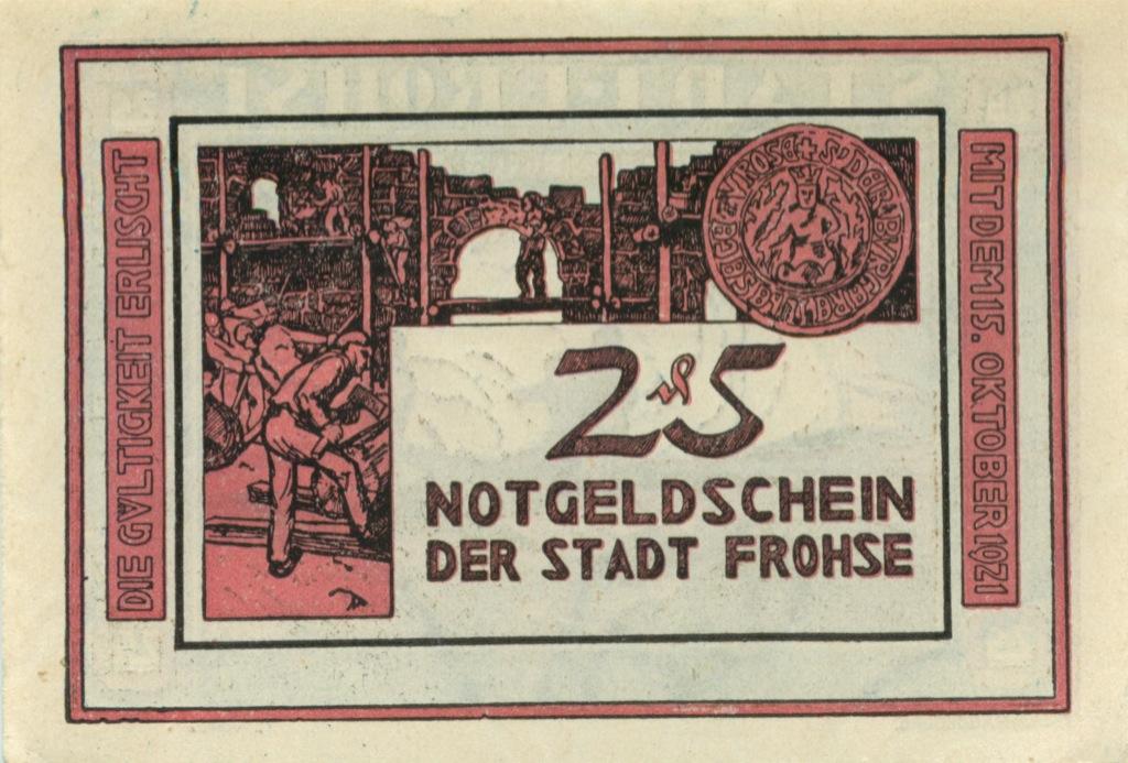25 геллеров (нотгельд) (Австрия)