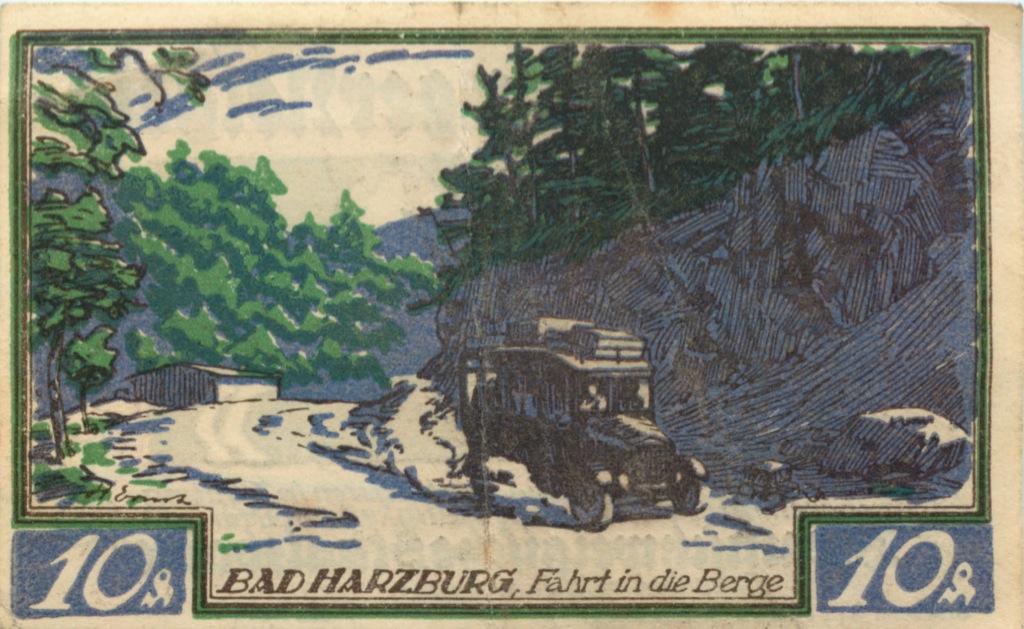 10 пфеннигов, Брауншвейг (нотгельд) 1923 года (Германия)