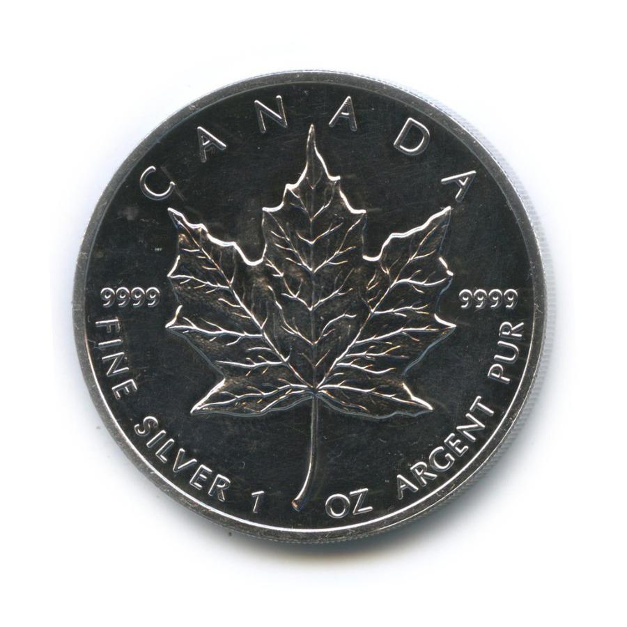 5 долларов — Кленовый лист 1992 года (Канада)