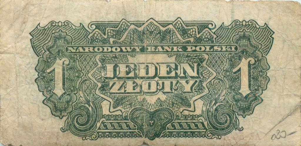 1 злотый 1944 года (Польша)
