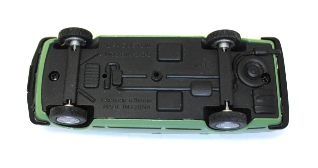 Модель машины «Москвич-3-5-6» (10 см)