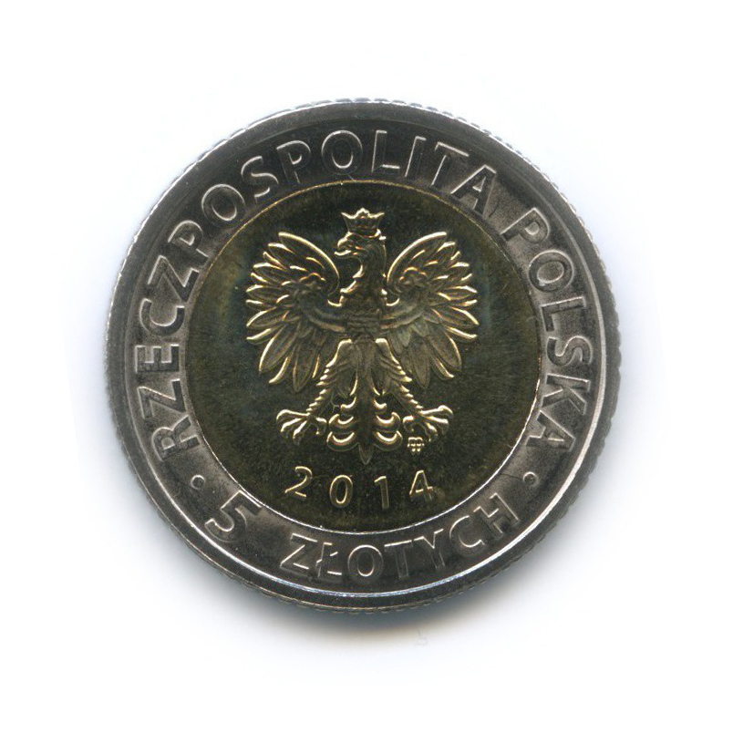 5 злотых - 25 лет свободы 2014 года (Польша)