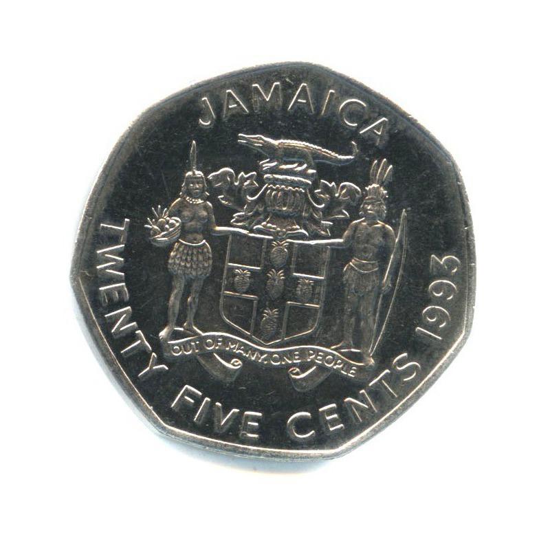 25 центов 1993 года (Ямайка)
