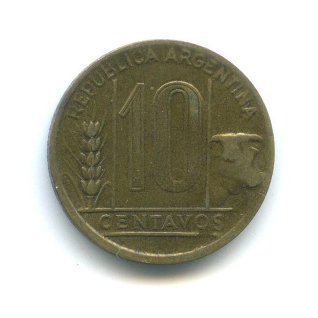 10 сентаво 1950 года (Аргентина)