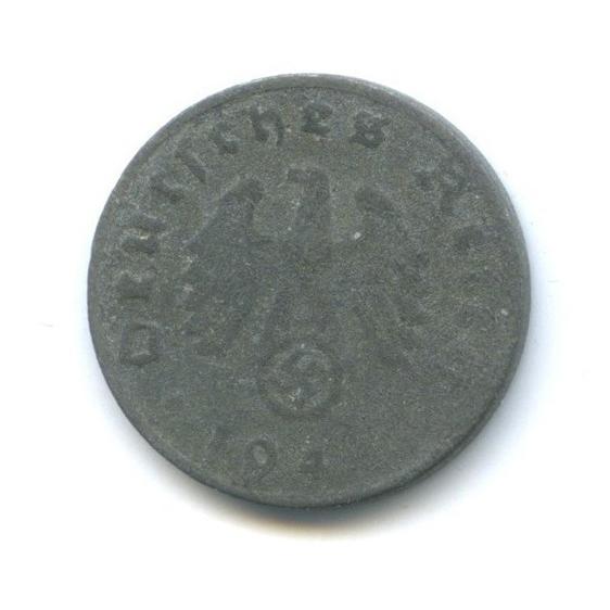 1 рейхспфенниг 1944 года D (Германия (Третий рейх))