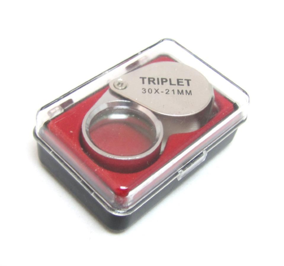 Лупа «Jeweler's Loupe», 30х-21 мм