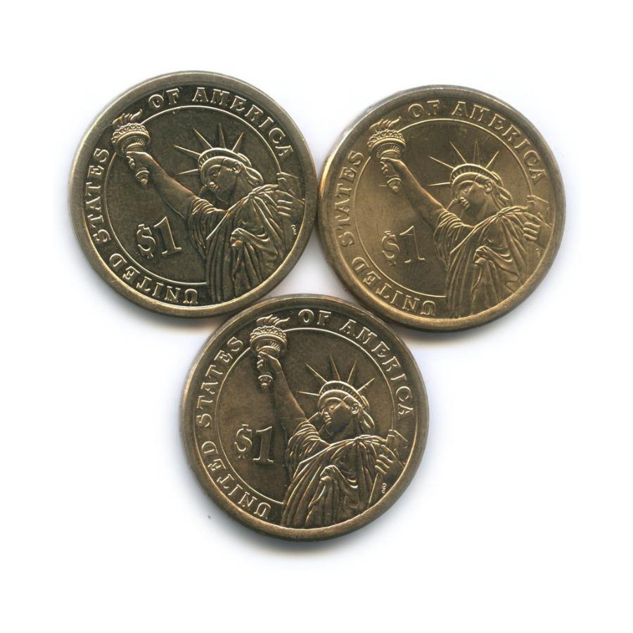 Набор монет 1 доллар - Президенты США 2014-2016 (США)