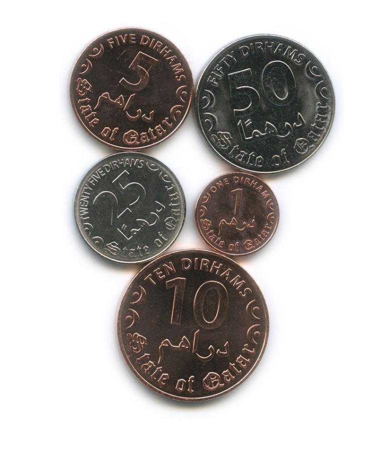 Набор монет (Катар) 2016 года