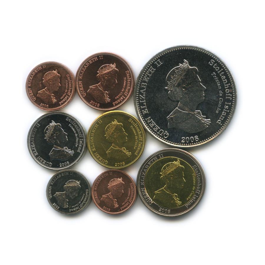 Набор монет (Тристан-да-Кунья) 2008 года