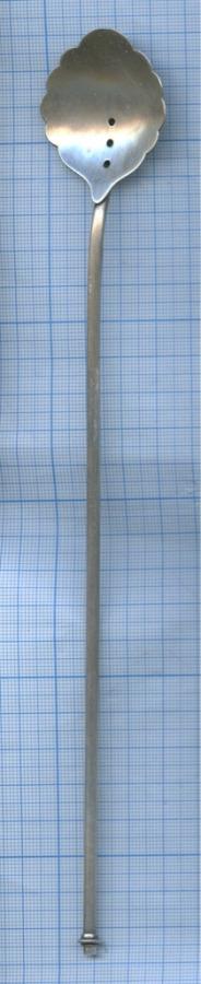 Ложка надлинной ручке (серебро 916 пробы) (СССР)