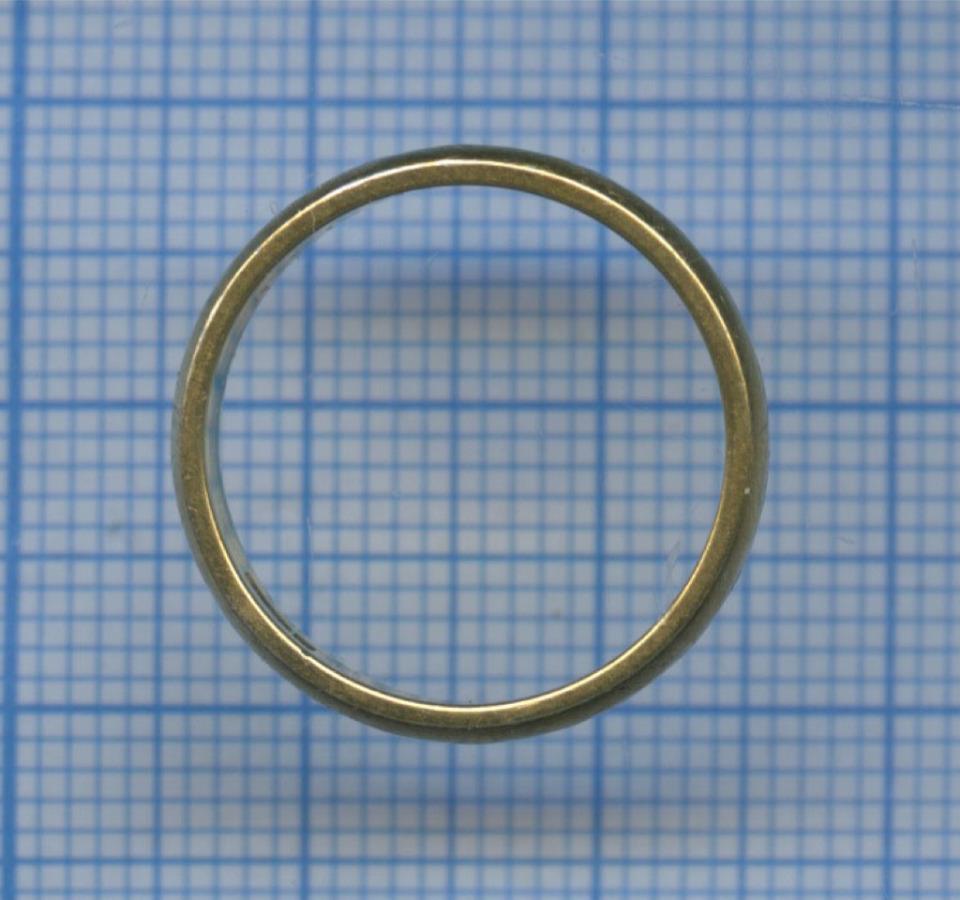 Кольцо (позолота, серебро 925 пробы) (СССР)