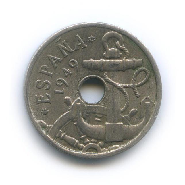 50 сентимо 1949 года 52 (Испания)