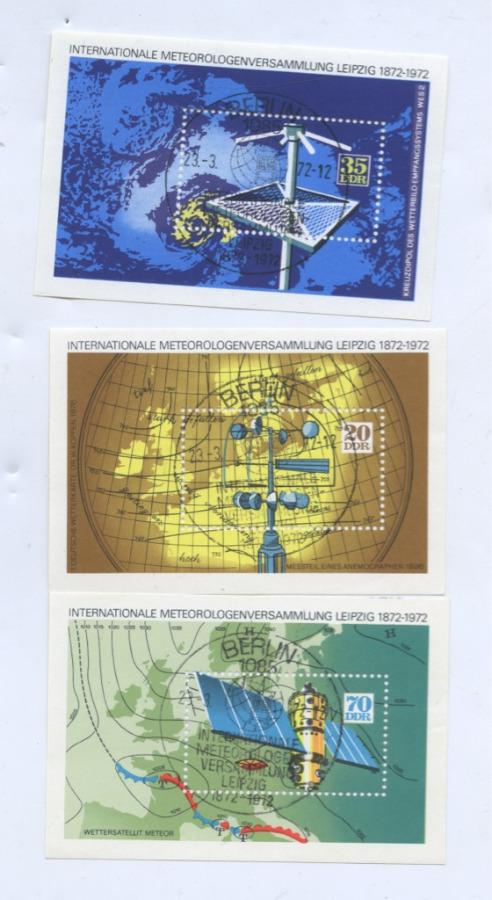 Набор почтовых марок «Космос» (Германия (ГДР))
