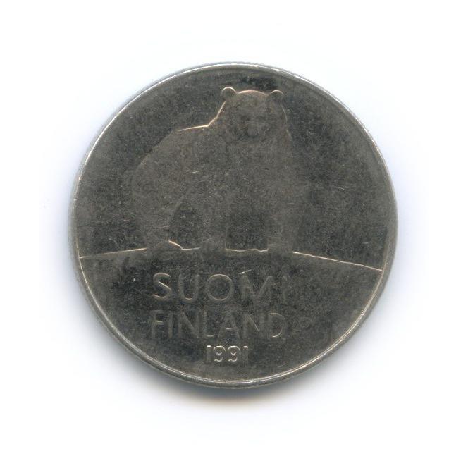 50 пенни 1991 года (Финляндия)