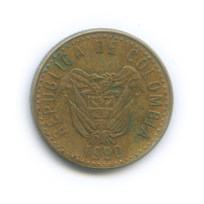 20 песо 1990 года (Колумбия)
