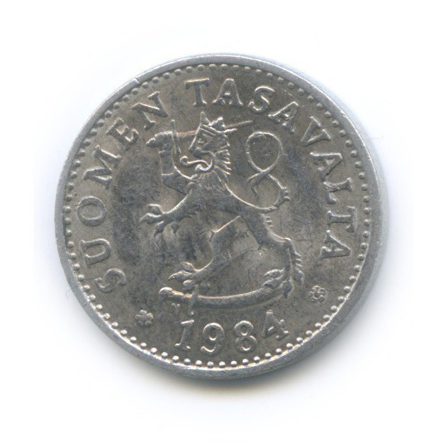 10 пенни 1984 года (Финляндия)