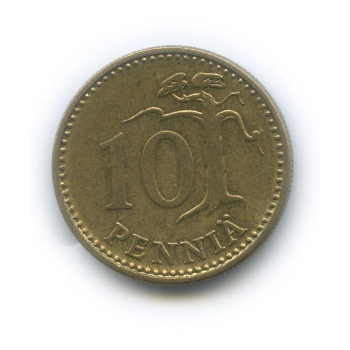 10 пенни 1974 года (Финляндия)