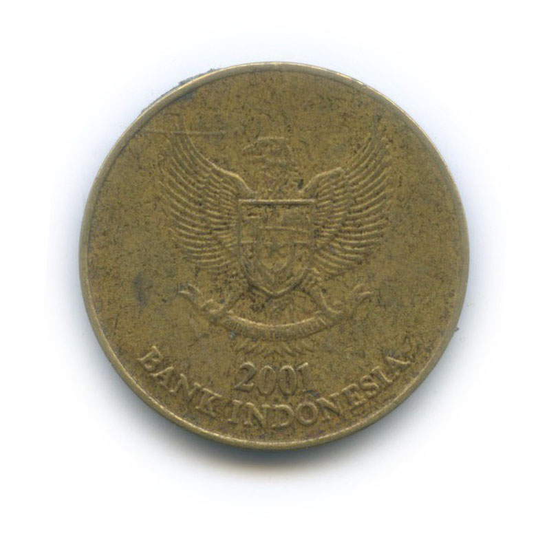 500 рупий 2001 года (Индонезия)
