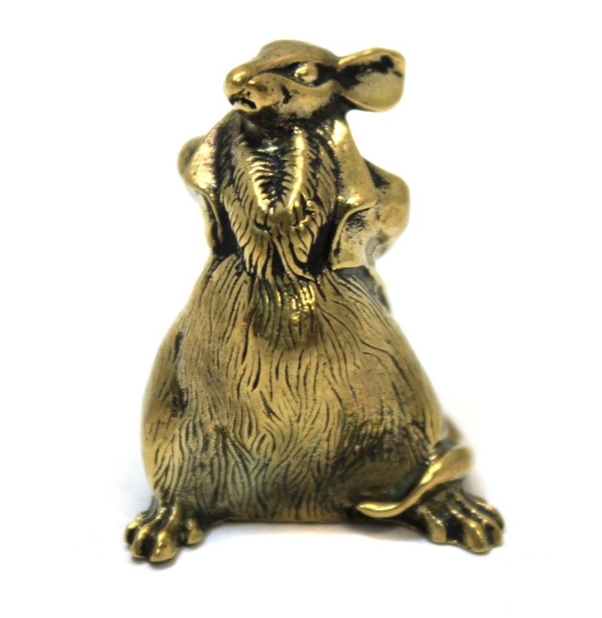 Фигурка «Крыса» (бронза, 3 см)