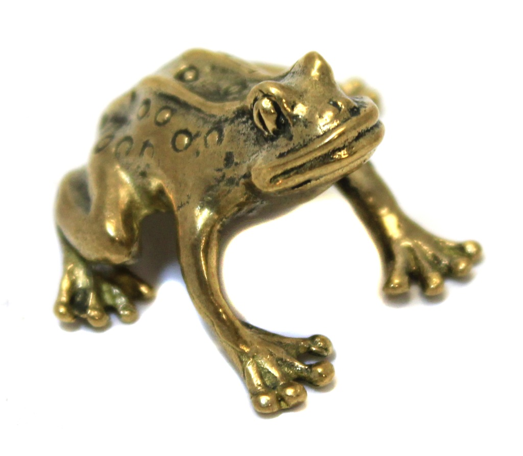 Фигурка «Лягушка» (бронза, 2 см)