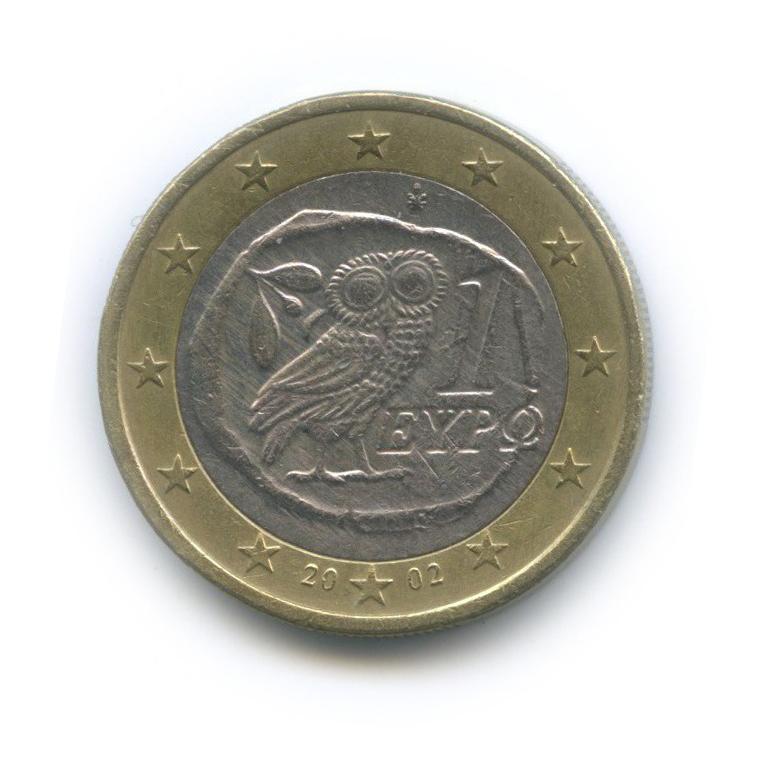 1 евро 2002 года (Греция)