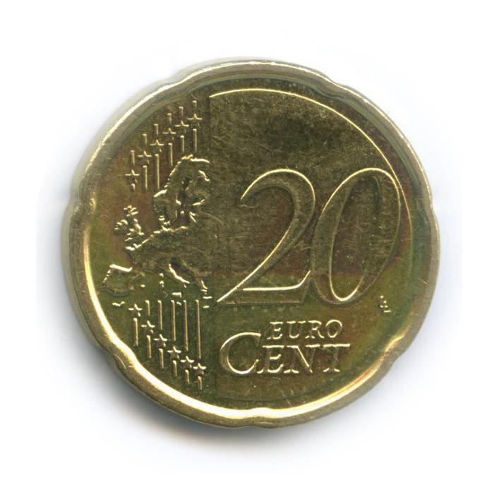 20 центов 2009 года (Бельгия)