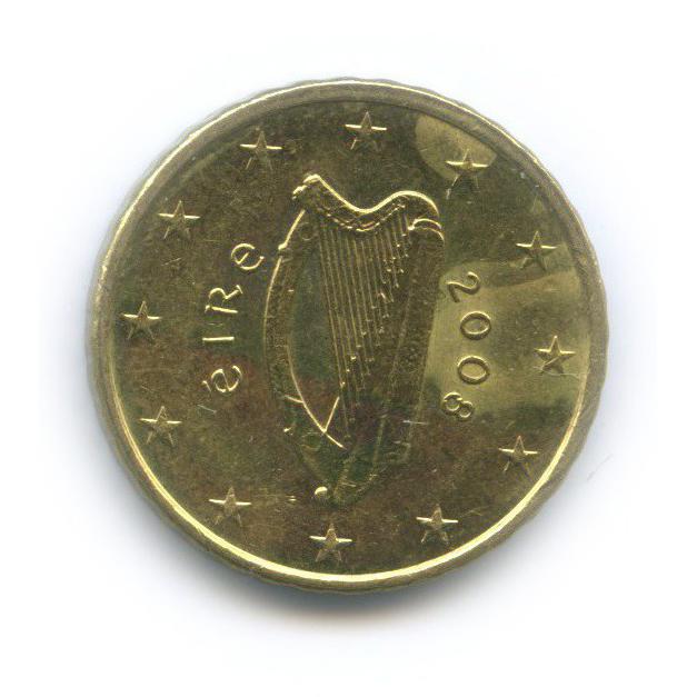 10 центов 2008 года (Ирландия)