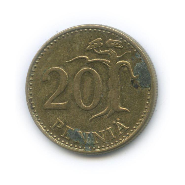 20 пенни 1984 года (Финляндия)