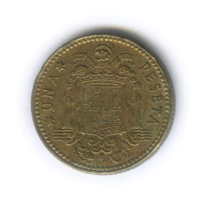 1 песета 1975 года 80 (Испания)