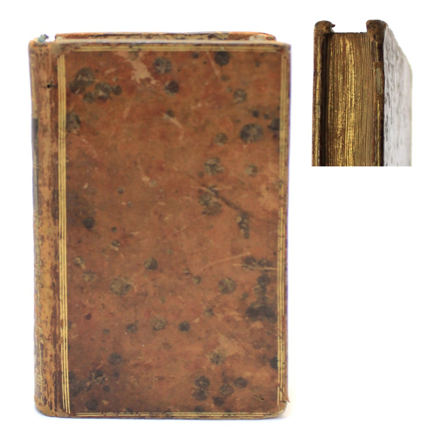 Книга «Романтические произведения», 213 стр. 1785 года (Франция)