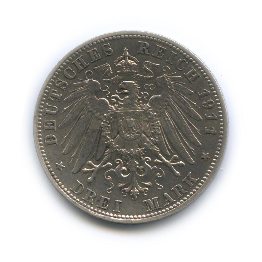 3 марки - Отто I, Бавария 1911 года