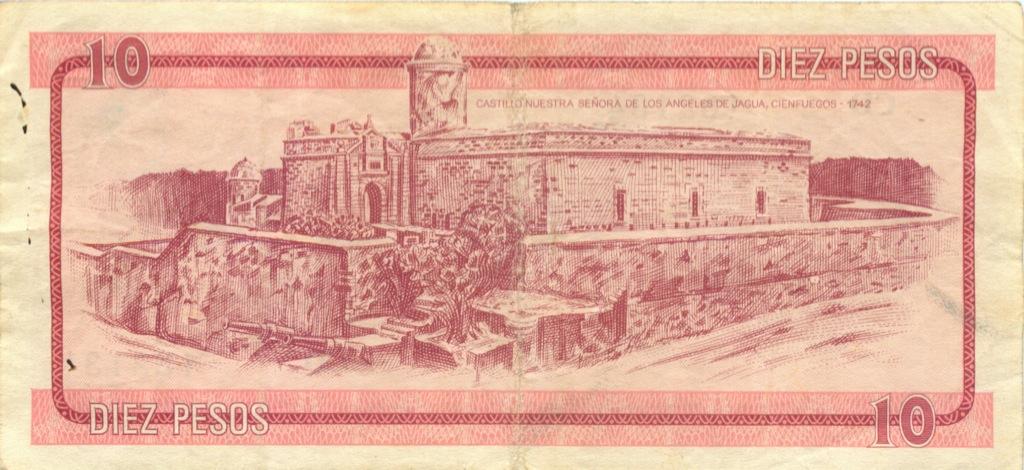10 песо (валютное свидетельство) (Куба)