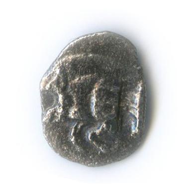 Гемиобол, Мизия (Кизик), 480-450 гг. до н. э., кабан/лев