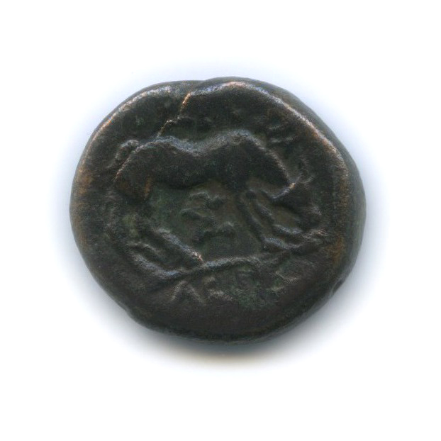 Фессалия Ларисса, 400-344 гг. до н. э., нимфа/конь