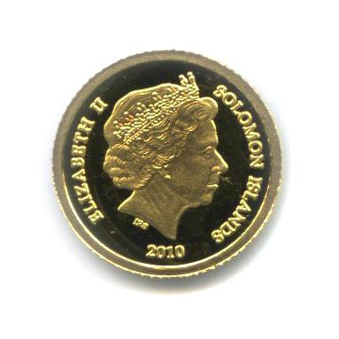 5 долларов - Императрица Священной Римской империи Мария Терезия, Соломоновы острова 2010 года