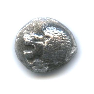 1/12 статера - Иония Милет, V в. до н. э., лев/звезда