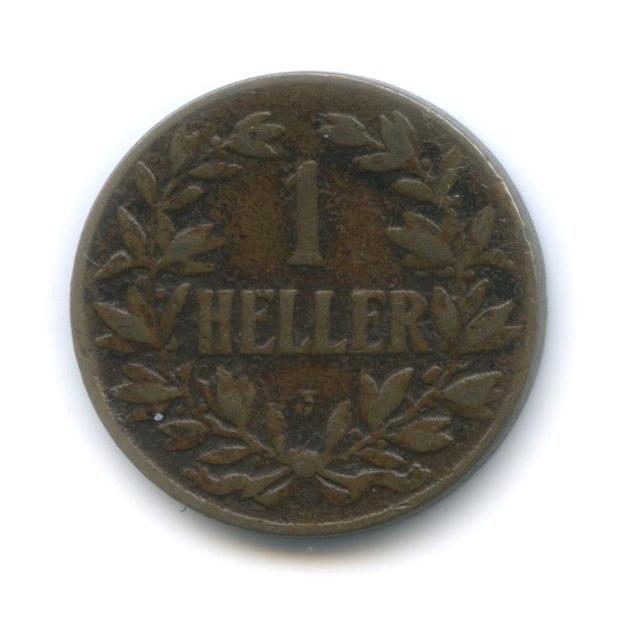 1 геллер, Немецкая Африка 1907 года J
