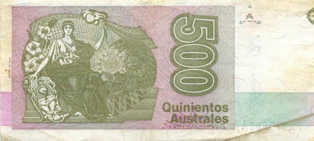 500 аустралей (Аргентина)