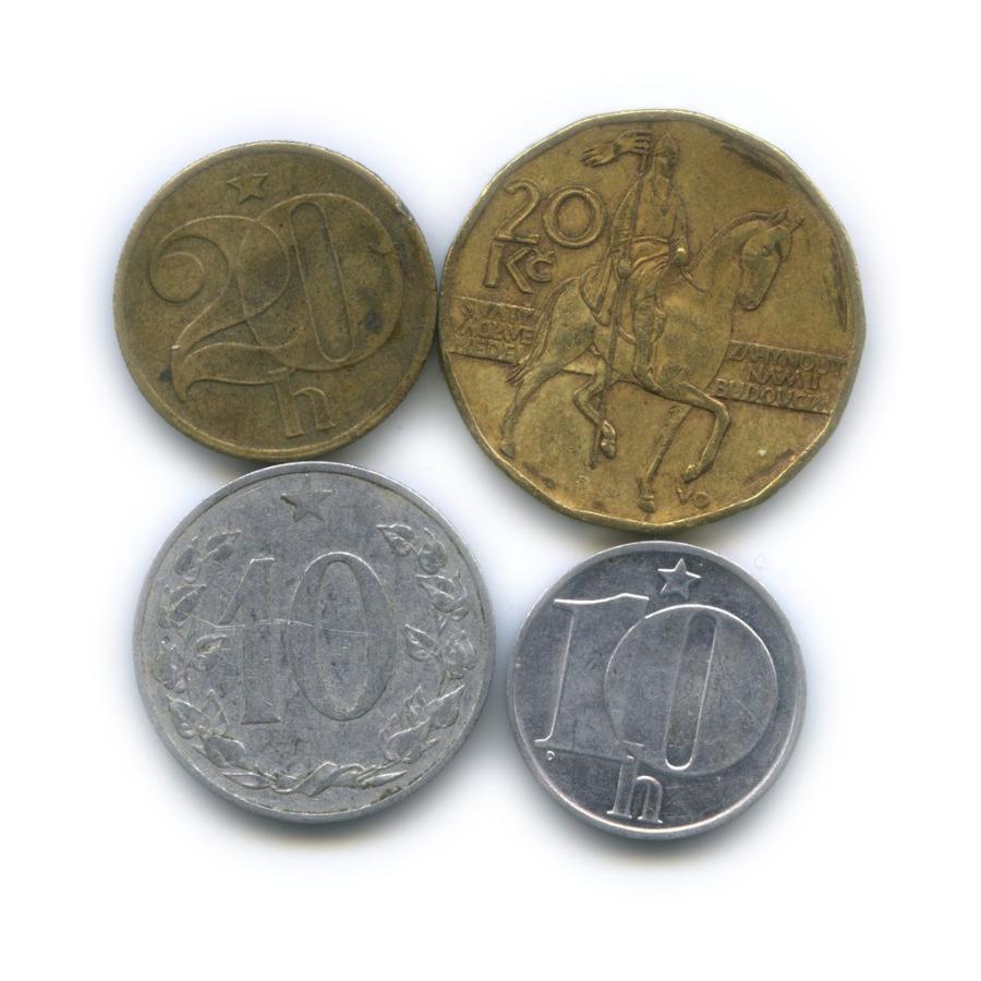 Набор монет (Чехословакия, Чехия)