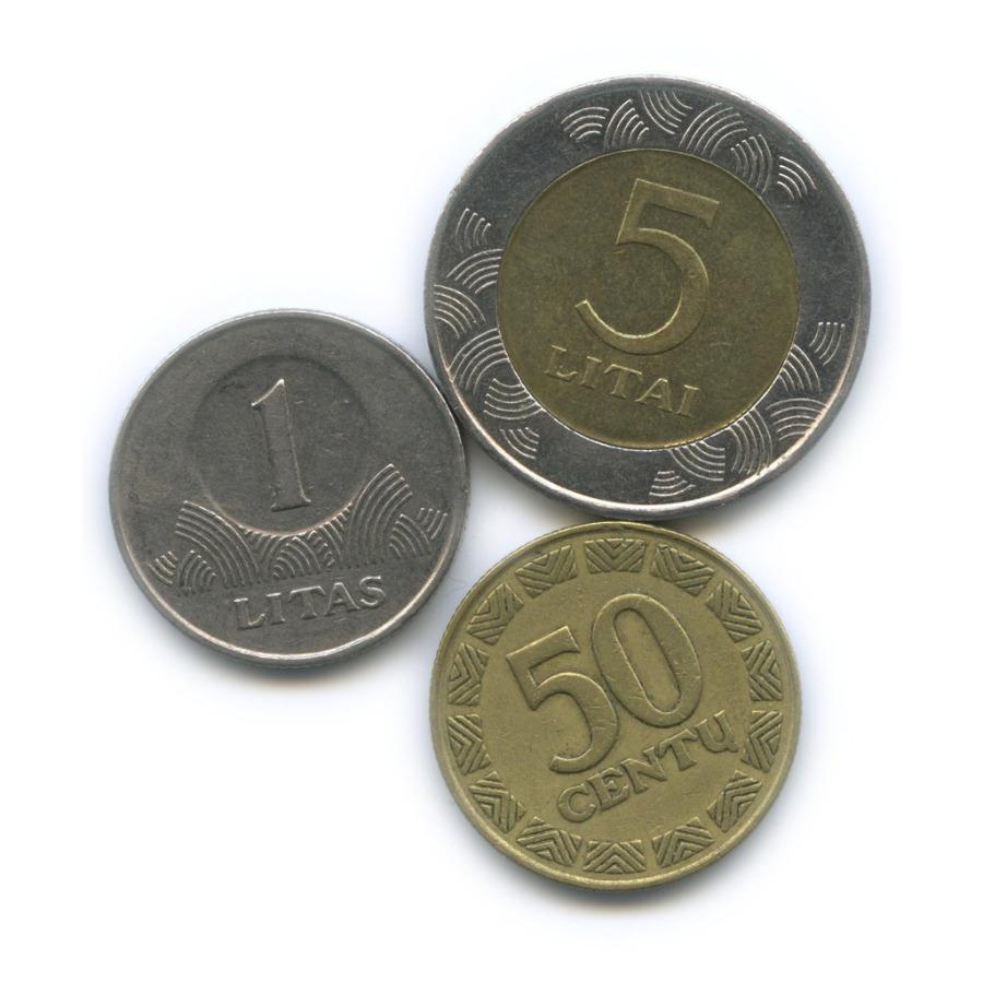 Набор монет 1998, 1999 (Литва)