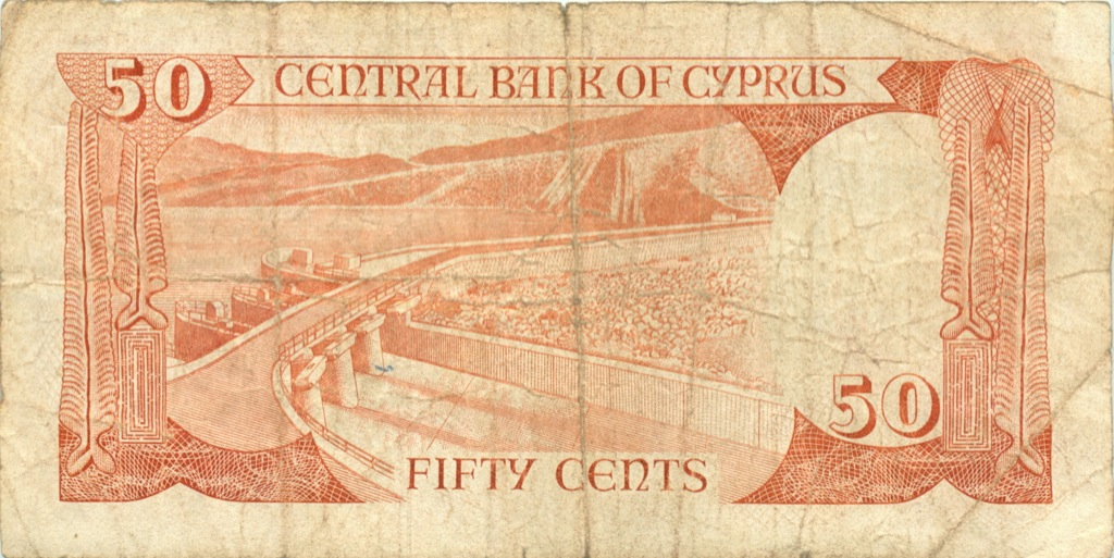 50 центов 1989 года (Кипр)