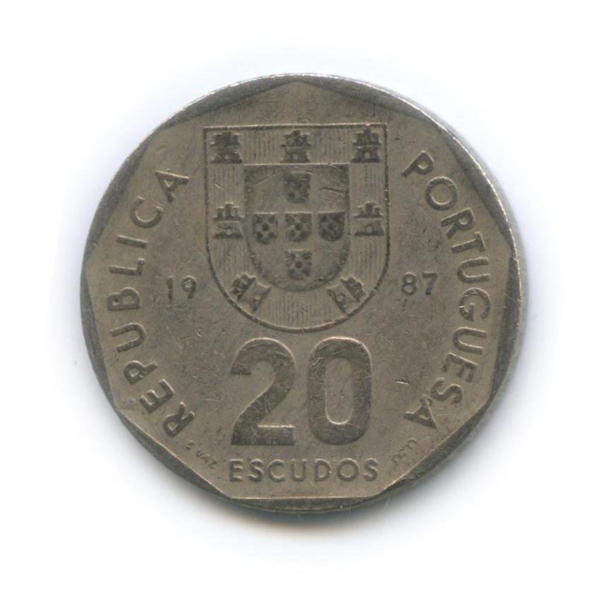 20 эскудо 1987 года (Португалия)