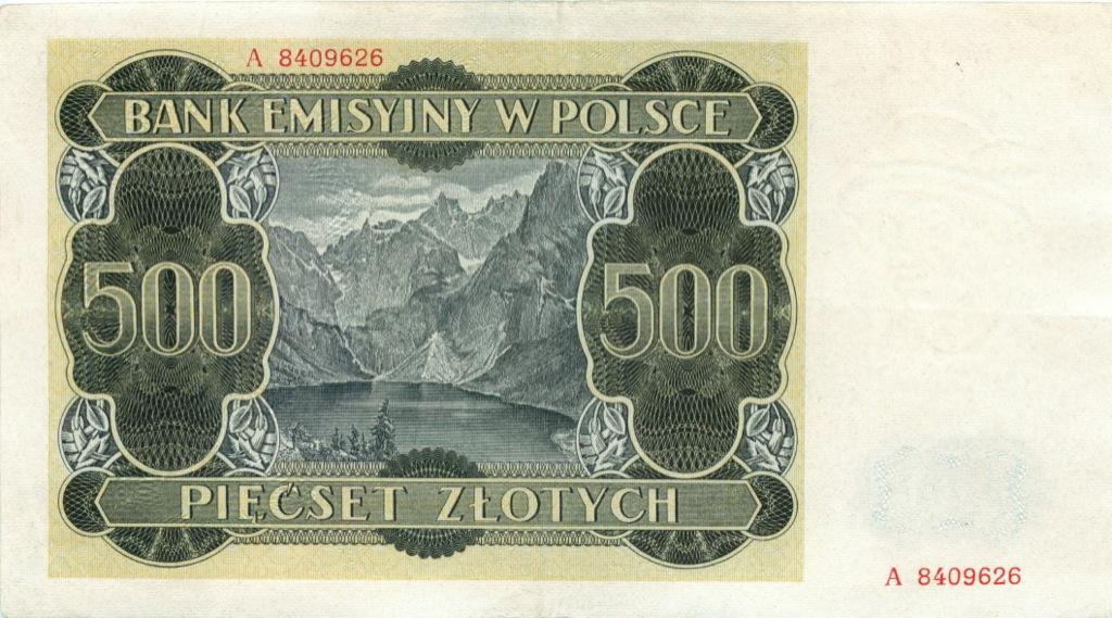 500 злотых 1940 года (Польша)