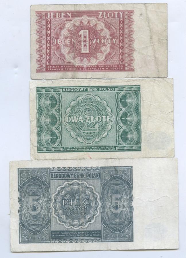 Набор банкнот 1946 года (Польша)