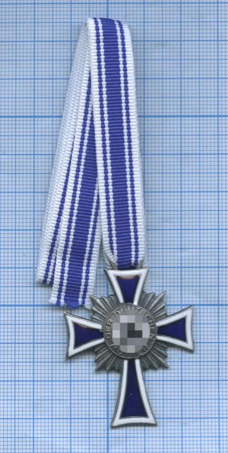 Медаль «Der Deutschen Mutter - 1938», Третий рейх (копия)
