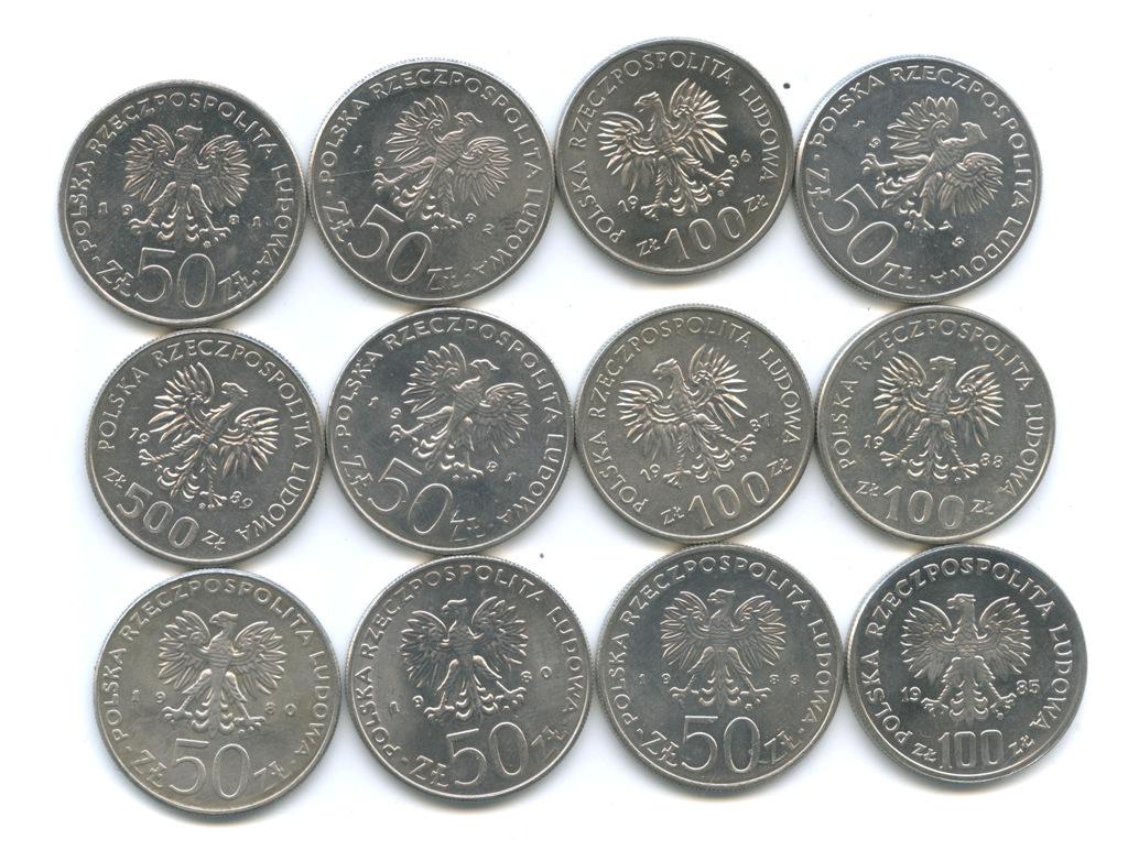 Набор монет - Польские правители (Польша)