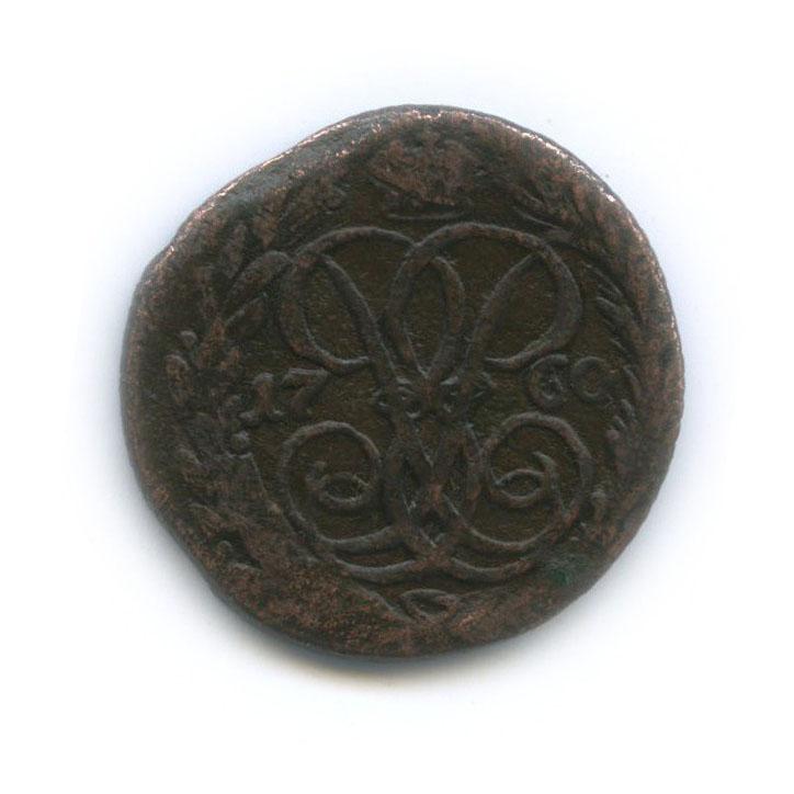 Денга (1/2 копейки) 1760 года (Российская Империя)