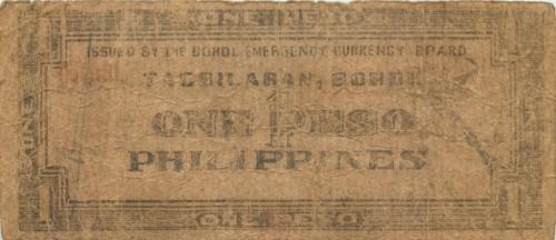 1 песо (о-в Бохоль) (Филиппины)
